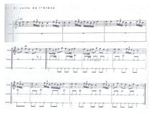Partitura de la cançó el Xotis de l'Arboç