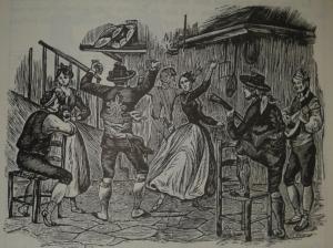 Ball de la jota, segons una capçalera de romanç de meitat del s.XX. Recollida per Joan Amades. (AMADES, Joan, 1982. Pg. 707, vol. I).