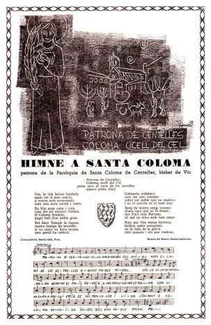 Himne de santa coloma