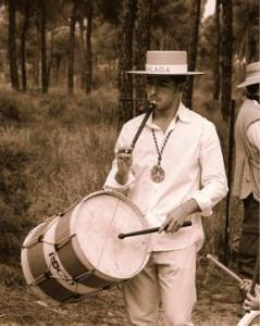 Flauta rociera i tamborcil (Andalusia)